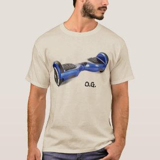 2つの車輪の自己のバランスをとるスクーターT Tシャツ