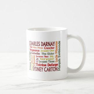 2つの都市キャラクター コーヒーマグカップ