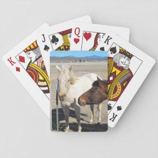 2つの馬のトランプ トランプ