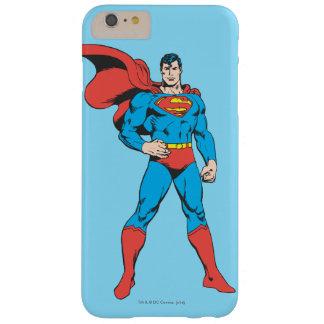 2つを提起しているスーパーマン BARELY THERE iPhone 6 PLUS ケース