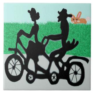 2のための自転車 タイル