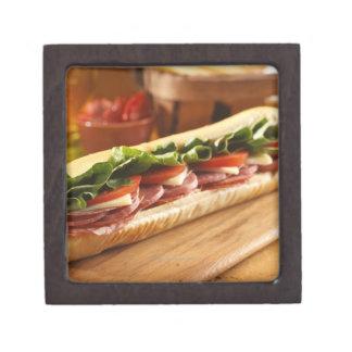 2のイタリアンで補助的なサンドイッチ ギフトボックス
