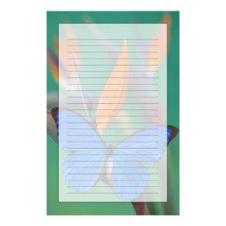 2の蝶のSammamishワシントン州の写真 便箋