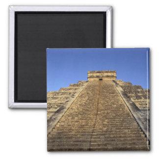 2のKukulcanの寺院かCastilloの城) マグネット