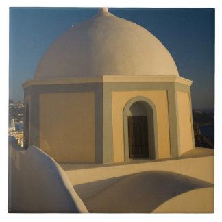 2のSantoriniの町のギリシャそしてギリシャの島 タイル