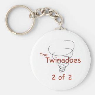 2のTwinadoes 2 キーホルダー