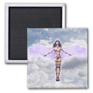 2インチの正方形の磁石; 妖精のコレクション: Shaylee マグネット