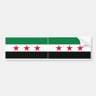 2シリアの旗 バンパーステッカー