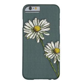 2デイジー、デイジーの花、元の芸術 BARELY THERE iPhone 6 ケース