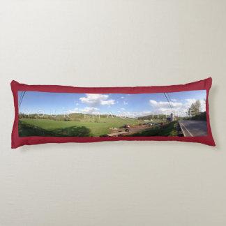 2パノラマ式の写真の赤くカスタムな抱き枕 抱き枕