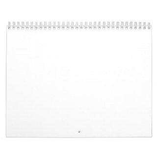 """2ページのカレンダー、標準、11"""" x17 """" カレンダー"""