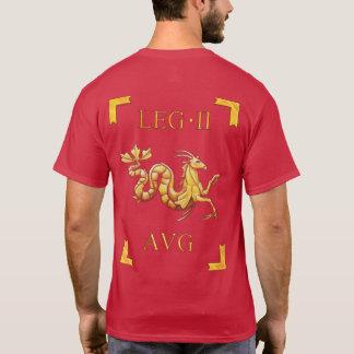 2ローマのLegio IIオーガスタVexillumのTシャツ Tシャツ