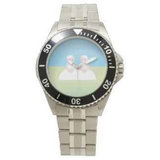 2人のコーカサス地方の花嫁 腕時計