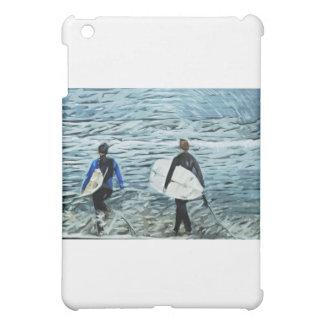 2人のサーファー iPad MINI CASE