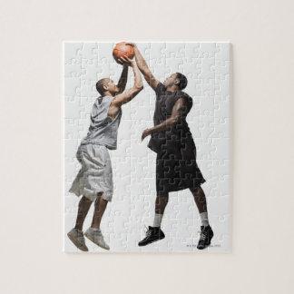 2人のバスケットボール選手 ジグソーパズル