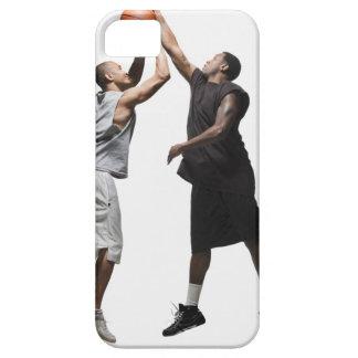 2人のバスケットボール選手 iPhone SE/5/5s ケース