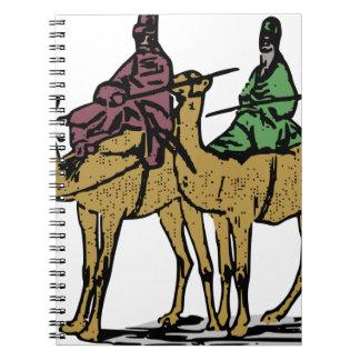 2人のラクダの人 ノートブック
