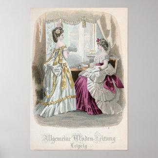 2人の女性 ポスター