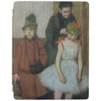 2人の小さな女の子を持つエドガー・ドガ の女性 iPadスマートカバー