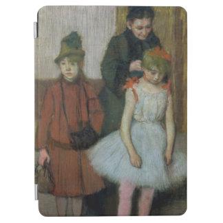2人の小さな女の子を持つエドガー・ドガ の女性 iPad AIR カバー