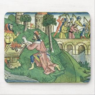 2人の王は16 9-16ダマスカスの人々cを取られます マウスパッド