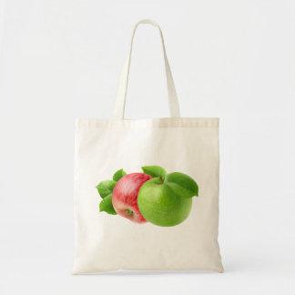 2個のりんご トートバッグ