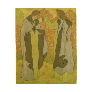 2優美1895年 ウッドウォールアート