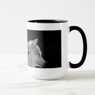 2匹のオオカミのコーヒー・マグ マグカップ