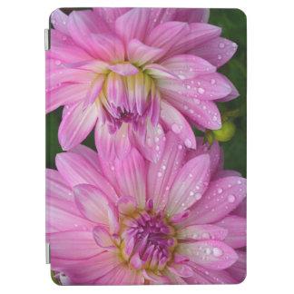 2匹のピンクのダリア iPad AIR カバー