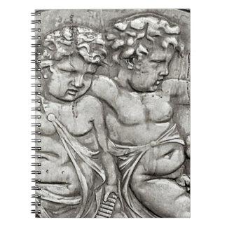 2匹の天使 ノートブック