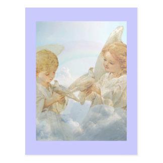 2匹の小さい天使 ポストカード