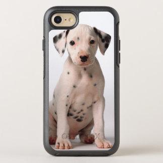 2匹の小さい白黒Dalmatian子犬 オッターボックスシンメトリーiPhone 8/7 ケース