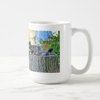 2味方されたガーゴイルの子猫のジャンボマグ コーヒーマグカップ