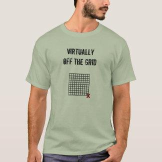 2味方された版! 事実上格子を離れて Tシャツ