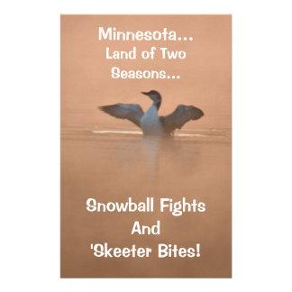2季節のミネソタの…土地 便箋