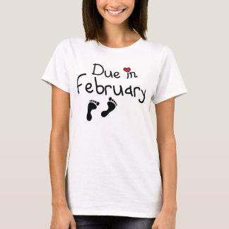 2月に当然 Tシャツ