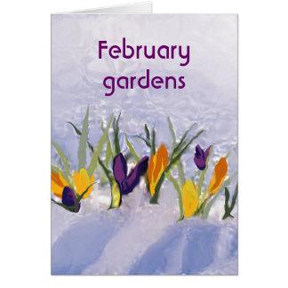 2月の02日挨拶 カード