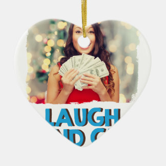 2月第8 -豊富な日を笑わせ、得て下さい セラミックオーナメント