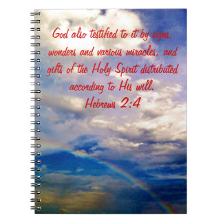 2月4日-聖書の詩の誕生のノート ノートブック