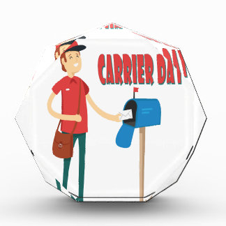 2月4日-郵便集配人日を感謝していして下さい 表彰盾