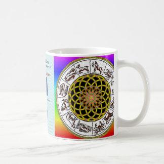 2月9日- 2月18日のアクエリアス天秤座のDecanのマグ コーヒーマグカップ