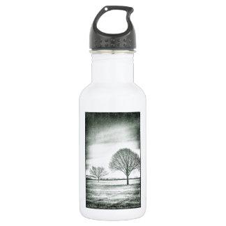 2本の冷ややかな木 ウォーターボトル