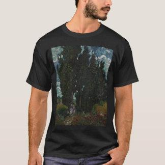 2本の姿sszefoglalスギwを持つスギ tシャツ