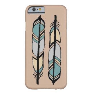 2本の羽の電話箱 BARELY THERE iPhone 6 ケース