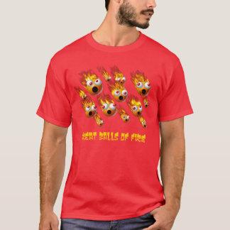#2素晴らしい炎の塊 Tシャツ