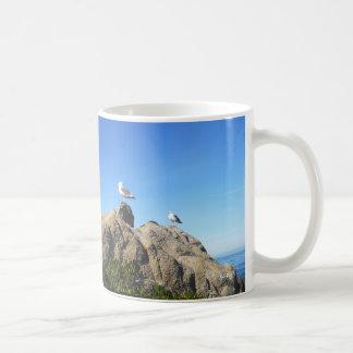 2羽のカモメ コーヒーマグカップ