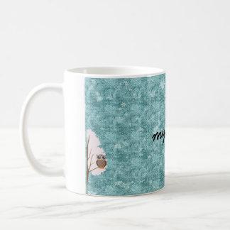 2羽の冬のフクロウ私のマグ コーヒーマグカップ