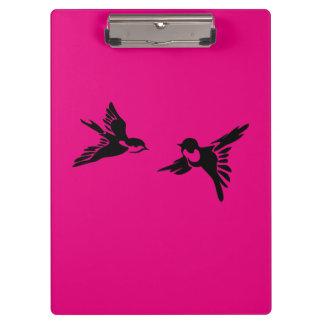 2羽の愛鳥 クリップボード