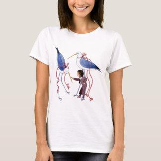 2羽の鳥 Tシャツ