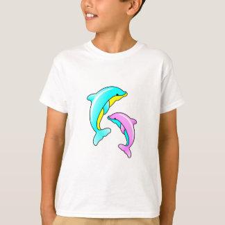 2頭のイルカ Tシャツ